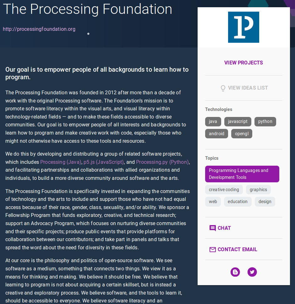 The Processing Foundation